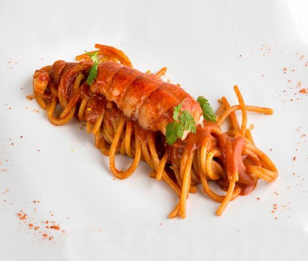 il #NataleConLeonessa e con le #ricette natalizie:  lo #Spaghettone di astice, che mette d