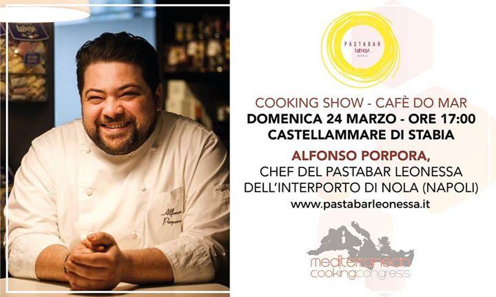 #PastaLeonessa e il Pastabar Leonessa saranno al Mediterranean Cooking Congress con il #cookingshow dello Chef Alfonso Porpora