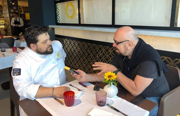 PastaBar Leonessa #AmericanPress #Journalist #Interview #ChefPorpora #PastaBar #realtime Chef Alfonso Porpora Pastabar Leonessa