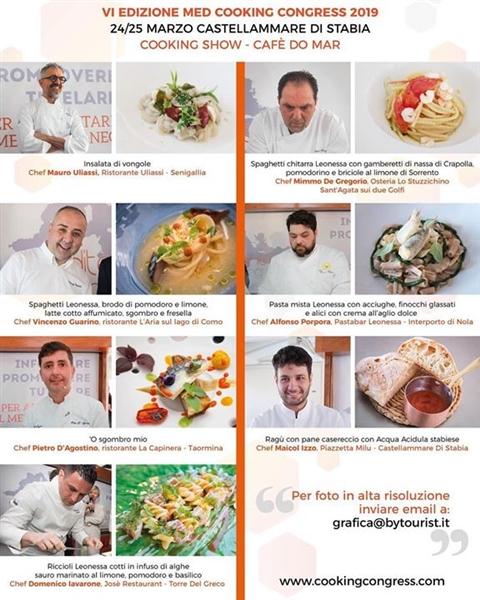 #MedCooking2019 #chef #Alimentare #Mediterraneo #MediterraneanCookingCongress #CookingShow #Stabia #March24/25 #SapienzaNapoletana #PastaLeonessa