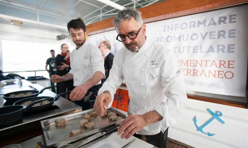 https://www.identitagolose.it/sito/it/44/23210/dall-italia/il-mediterraneo-come-risorsa-parlano-i-grandi-chef.html#.XLOLQMJXLIA.facebook #PastabarLeonessa #PastaLeonessa #ChefPorpora #PastaFiorDiGrano 100% Campania #GranoMetodoNobile #ChefSpagnuolo #ChefDelSorbo