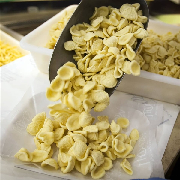 Il weekend è ancora più buono, con la pastafresca Leonessa. le Orecchiette sono pronte in pochi minuti.