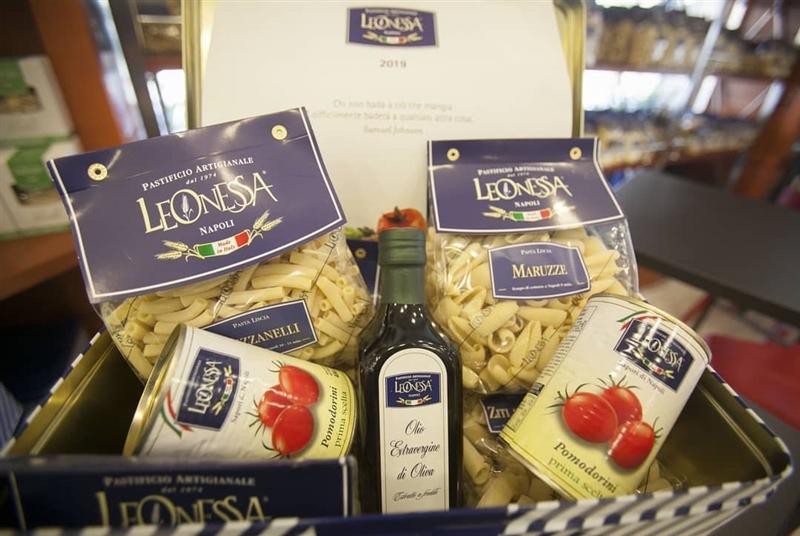 Per i regali più gustosi, basta scegliere le giftbox Leonessa, un'esplosione di sapori!
