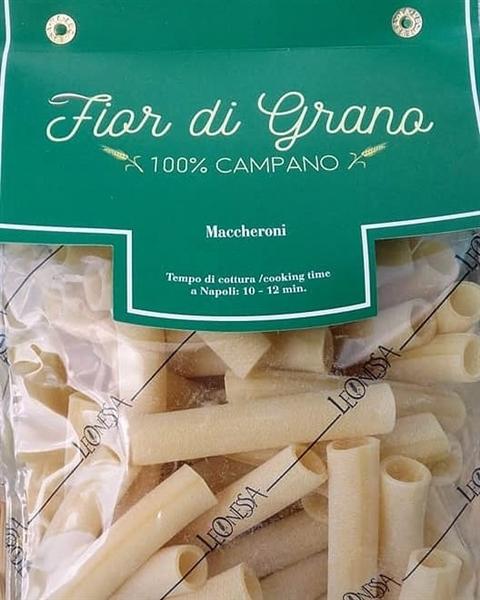 Grano 100% coltivato in Campania, a Vallesaccarda, con metodo Nobile e tanta sapienza napoletana: così nascono i Maccheroni Fior di Grano Leonessa