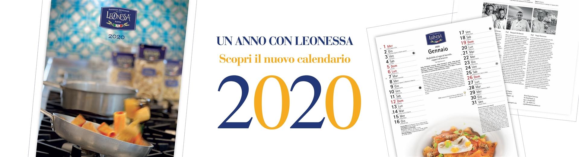 Calendario 2020 Pastificio Leonessa