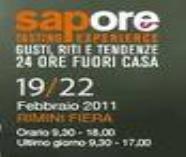 """Pastificio Leonessa al """"SAPORE"""" 2011 - Rimini"""
