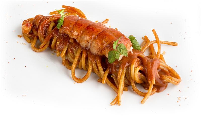 Spaghettone di astice