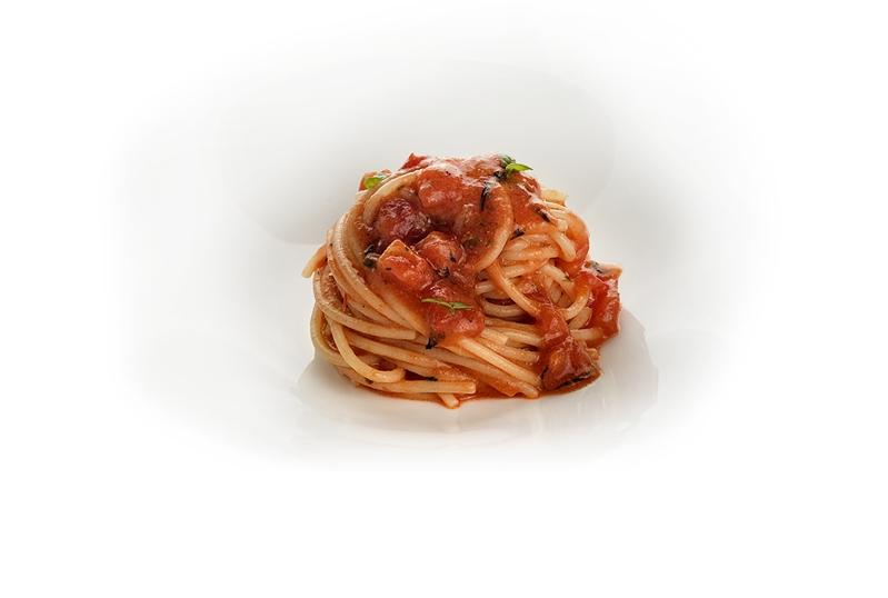 Spaghettino alla Nerano rossa